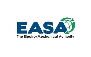 EASA Logo with text: The Electro-Mechanical Authority