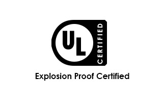 UL Certified logo with text: Explosion Proof Certified
