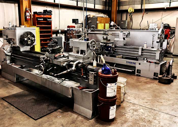 Electric motor machine shop illiana industrial for Electric motor rebuild shop near me