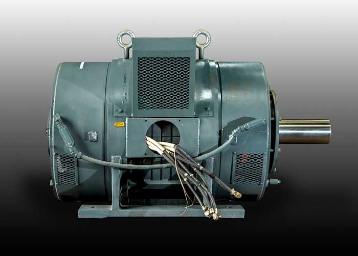 250 hp Howell Press Motor