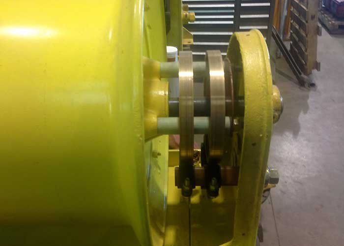 Cable Reel - Slip Ring Assembly Rebuilt