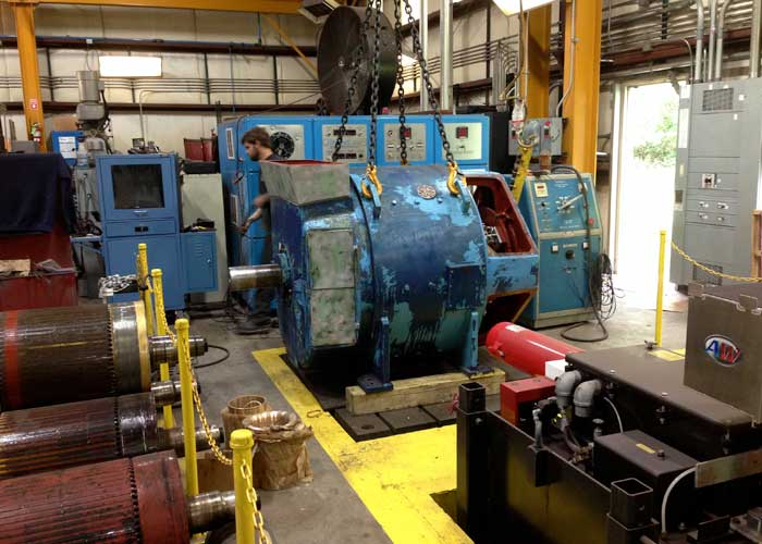 electric motor repair illiana industrial