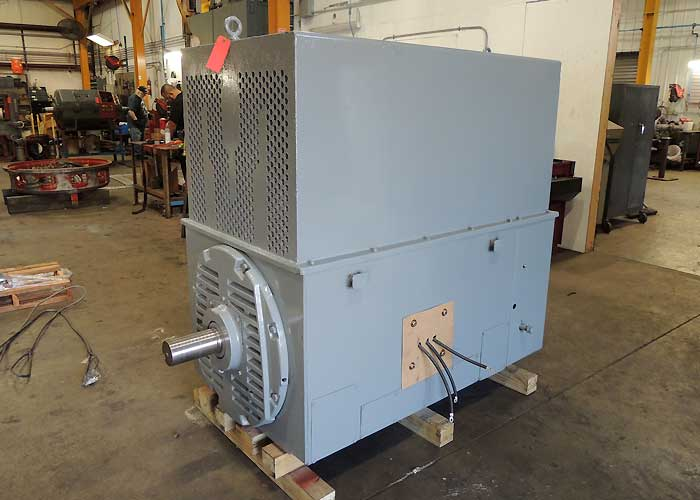 650 hp Drag Line Motor